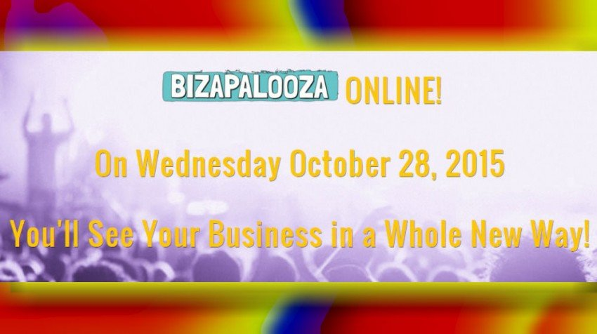 Come Together, Meet Small Business Experts at Bizapalooza Online