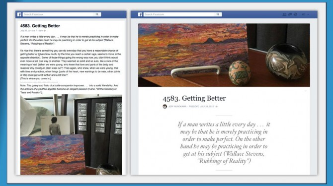 facebook notes