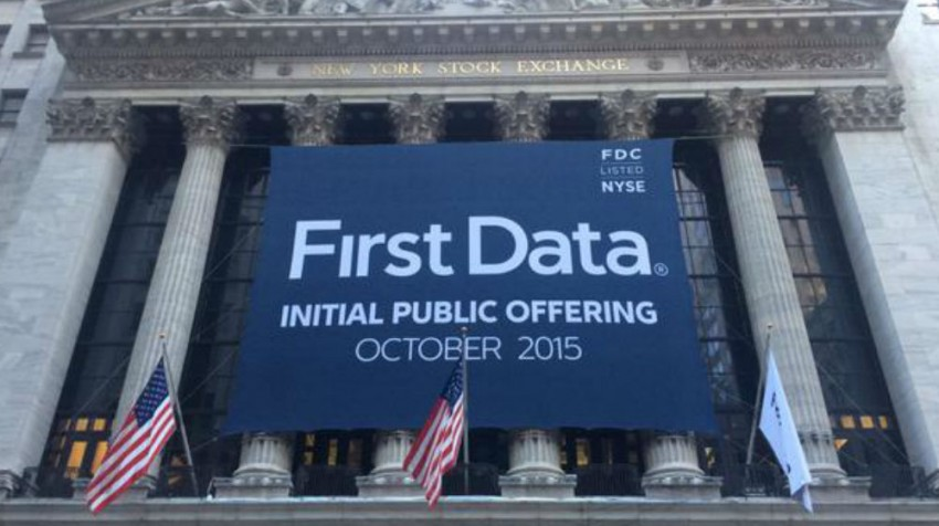 first data ipo