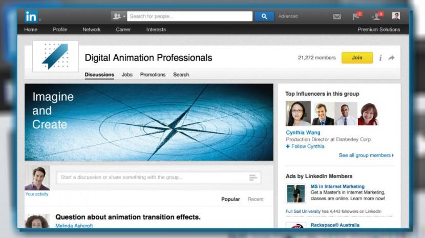 LinkedIn Groups Redesign