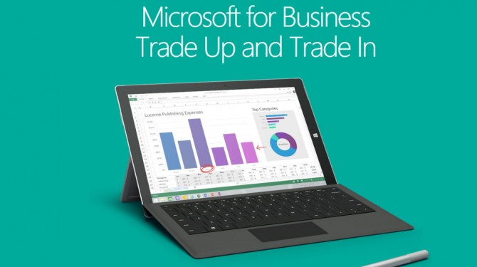 microsoft trade in