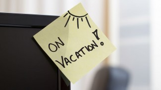 vacation post it