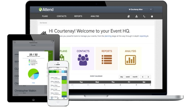 attend event management platform