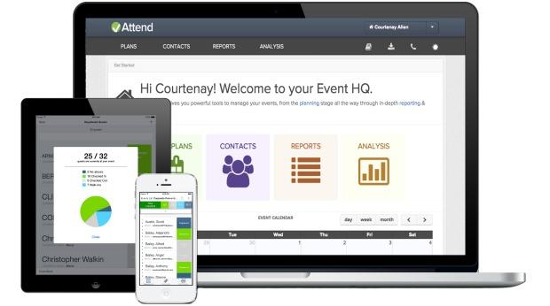 attend event management platform