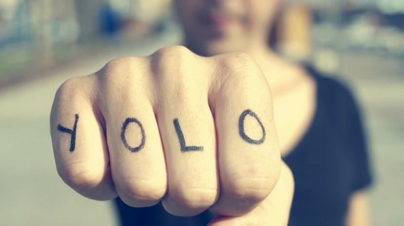 YOLO tattoo