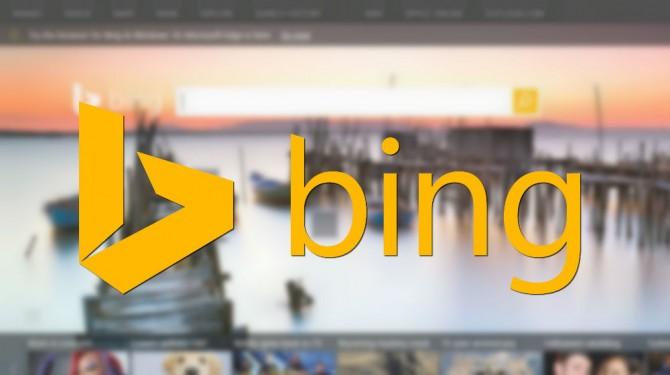 bing search main