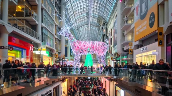 black friday mall
