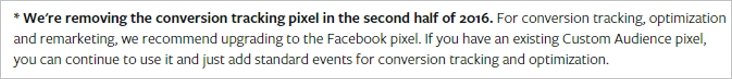 facebook pixel conversion tracking 3