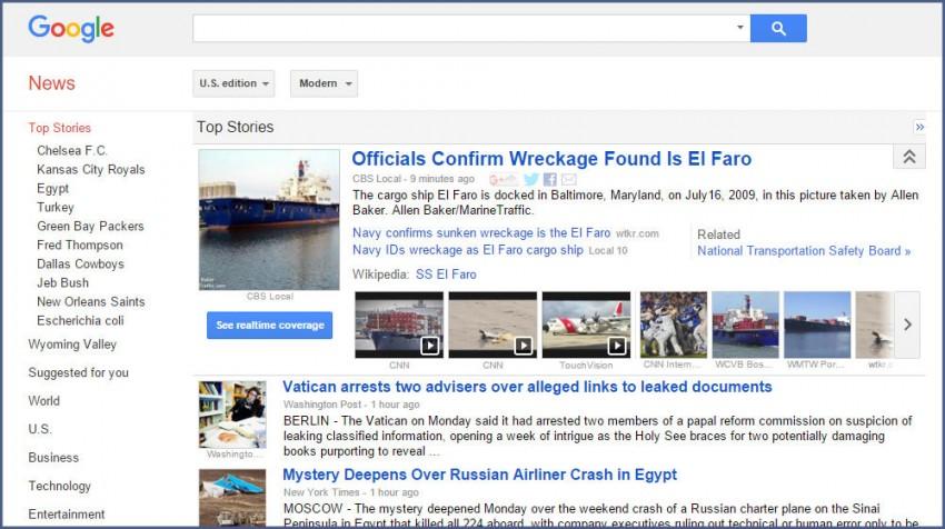 use google news