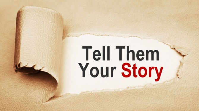 how to tell your company story