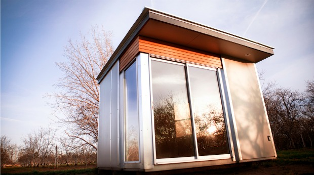 modern spaces and sheds
