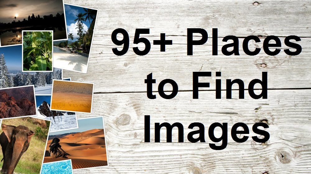 Places to Find Images