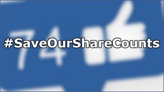 save our share counts