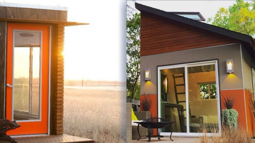 Entrepreneurs Around The Country Are Turning To Tiny Houses, Or Small Shed Like  Structures To House Their Offices ...