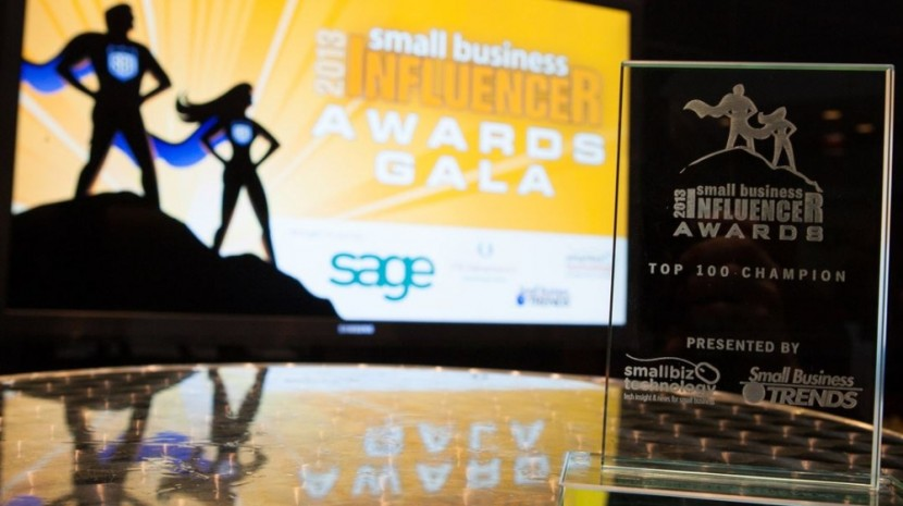 Announcing The Small Business Influencer Awards Champions for 2015