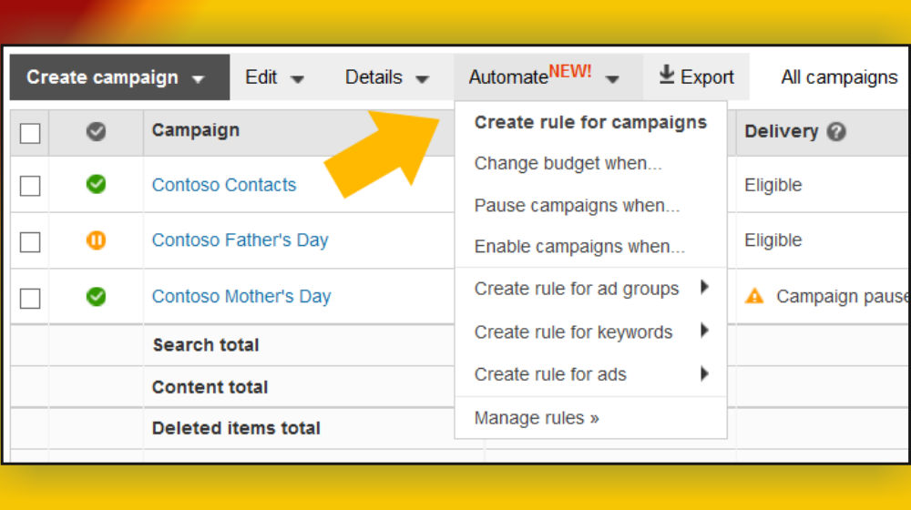 Are You Aware of Features to Automate Your Bing Ad Campaign?