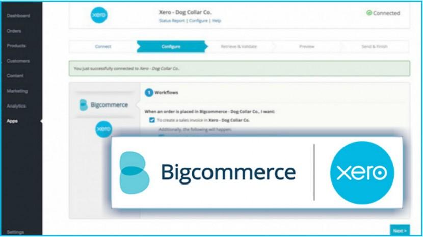 big commerce xero
