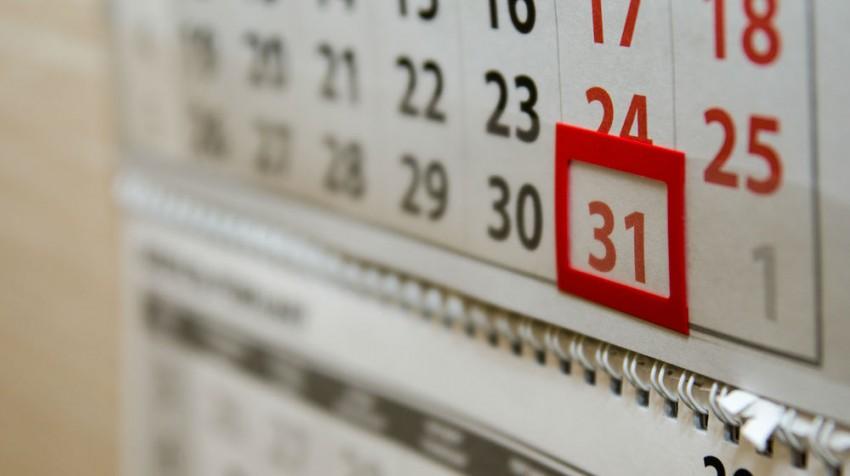calendar change