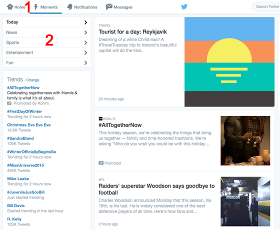 twitter moments review