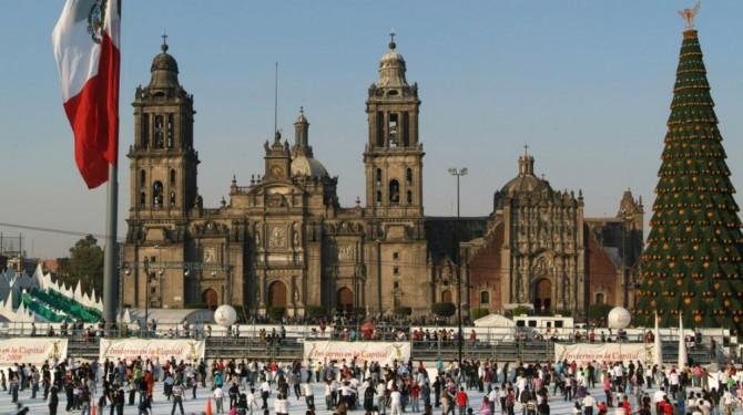 mexico city ice skaters