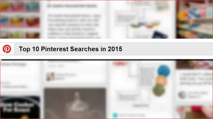 top 10 searches on Pinterest