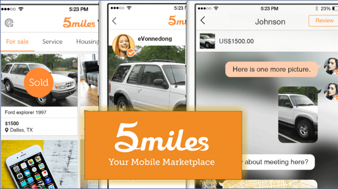 5miles mobile marketplace