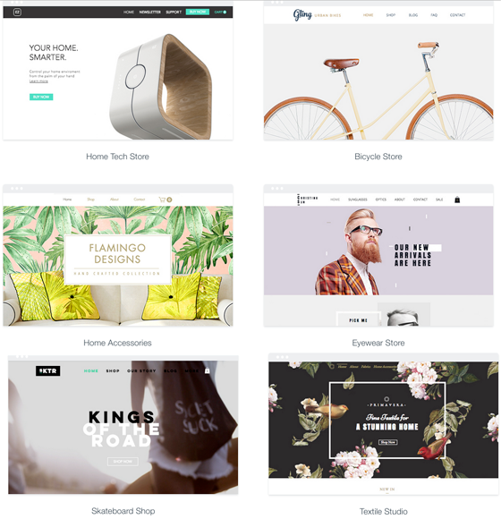 themes for ecommerce sites