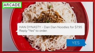 texting food orders
