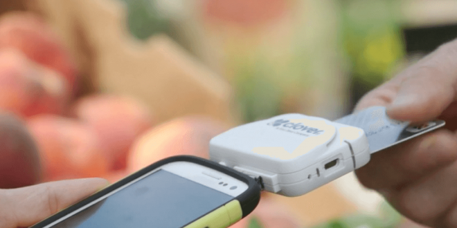 Paypal Mobile Card Reader >> First Data Introduces Clover Go Card Reader to Compete ...