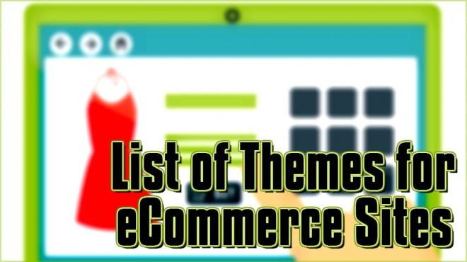 ecommerce sites