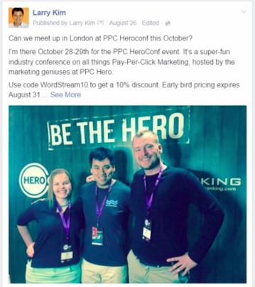 facebook custom audience marketing