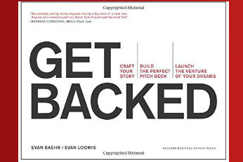 get backed