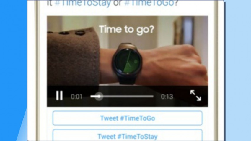 Twitter Hashtag ads
