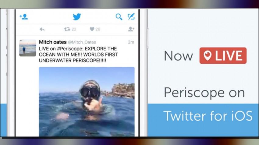 periscope in twitter feeds
