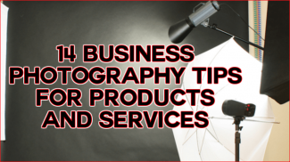 business photography tips