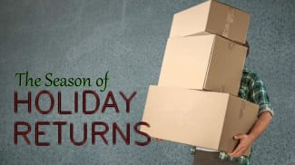 season of holiday returns