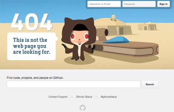 what is a custom 404 page