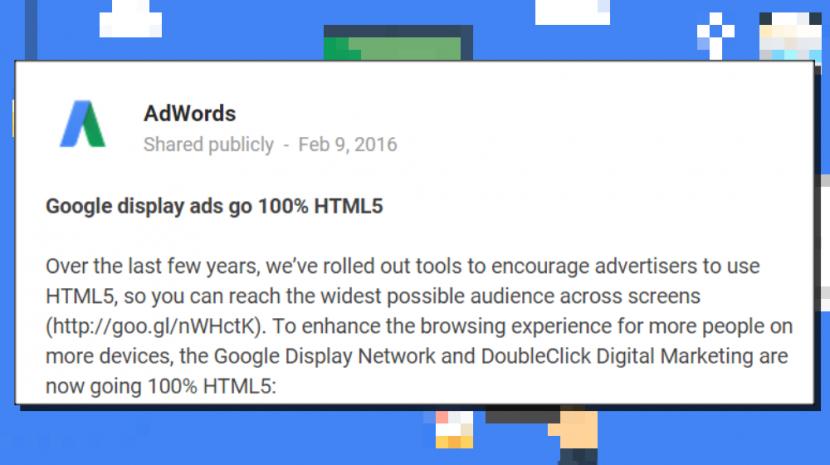 google flash ads