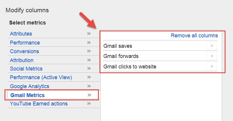 gmail ads tip targeting