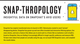 marketing via snapchat