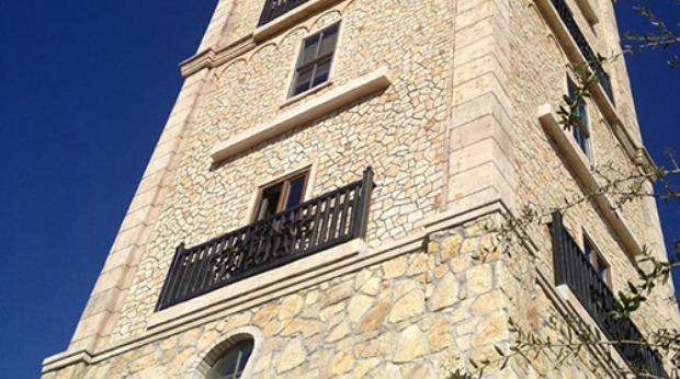 stonecoat blown limestone tiles