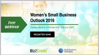 women's small business outlook promo