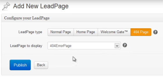 create a 404 page tools