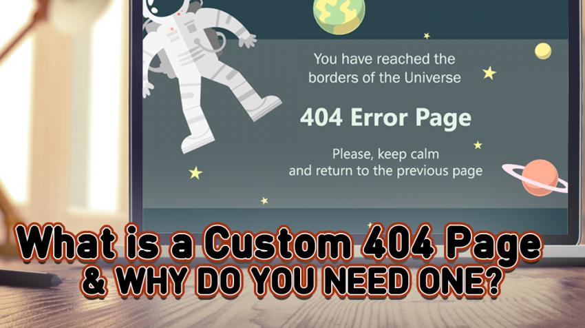 custom 404