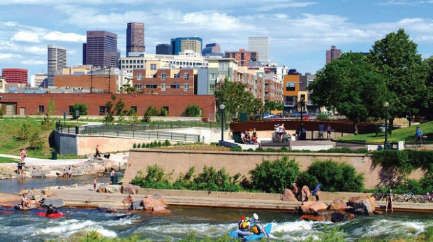 Best Cities for Young Entrepreneurs - Denver-Aurora-Lakewood, Colorado