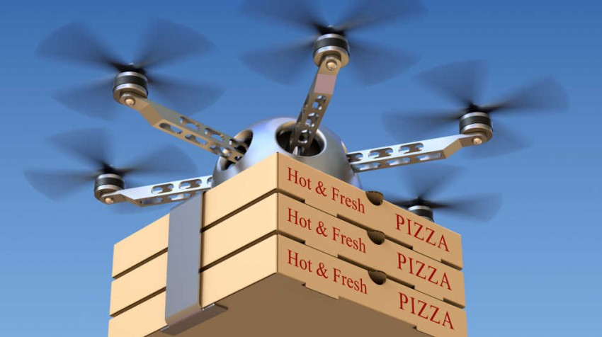 delivery drones grounded