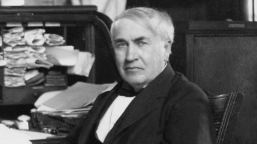entrepreneurs with no experience Thomas Edison