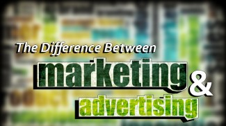 difference between marketing and advertising
