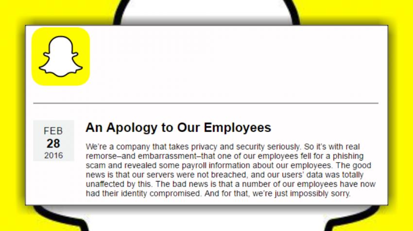 snapchat apology