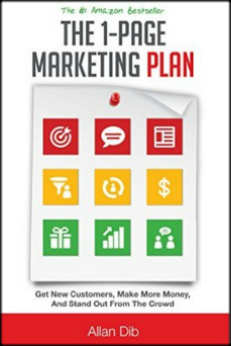1 page marketing plan book